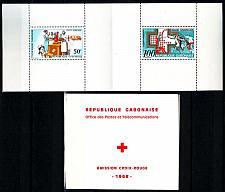 Buy GABUN GABON [1968] MiNr 0306-07 Markenheft ( **/mnh ) Rotes Kreuz