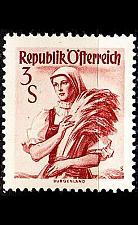 Buy ÖSTERREICH AUSTRIA [1948] MiNr 0922 II yb ( */mh ) Trachten
