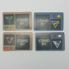 Buy Screaming Eagles 36 Command Cards Replacement Game Piece Part 1987