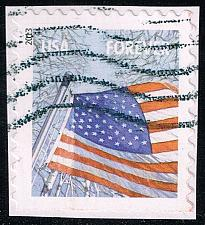 Buy US #4785 Flag in Winter; Used (3Stars)  USA4785-02