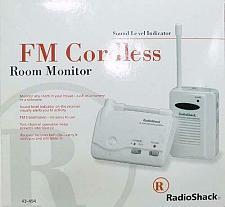 Buy FM Cordless Room Monitor Radio Shack 43-494