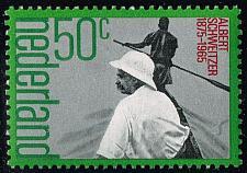 Buy Netherlands #530 Albert Schweitzer; MNH (4Stars)  NED0530-05XKN