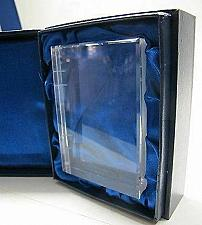 Buy Hand Cut Glass book paperweight, hand cut crystal