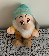 Buy Disney Store Bashful Seven Dwarfs Soft Stuffed Plush Doll Toy 7 inch Dog Charity