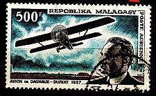 Buy MADAGASKAR MADAGASCAR [1967] MiNr 0568 ( O/used ) [01] Flugzeug