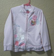 Buy Pink Disney Princess Jacket Size 5 Belle Cinderella & Tiana