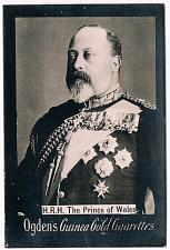 Buy Ogden's Guinea Gold Cigarettes Tobacco Card H.R.H. The Prince Of Wales Vintage