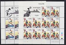 Buy MALTA [1981] MiNr 0628-29 Kleinbogen ( **/mnh ) CEPT