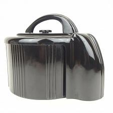 Buy 1940's Count Rite Bakelite Poker Chip Holder Dispenser Caddy Set Carousel Black