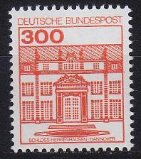Buy GERMANY BUND [1982] MiNr 1143 ( **/mnh ) Bauwerke