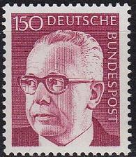Buy GERMANY BUND [1972] MiNr 0730 ( **/mnh )