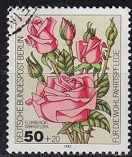 Buy GERMANY BERLIN [1982] MiNr 0680 ( O/used ) Blumen