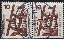 Buy GERMANY BUND [1971] MiNr 0695 A 2er ( O/used )