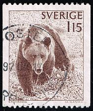 Buy Sweden #1234 Brown Bear; Used (4Stars)  SVE1234-08