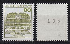 Buy GERMANY BUND [1982] MiNr 1140 R ( **/mnh ) Bauwerke