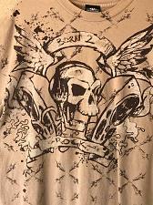Buy Born 2 Rock Skull Shirt Men's XL