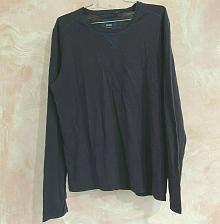 Buy Hugo Boss men's T-shirt long sleeve Size L Blue Navy