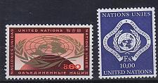 Buy UNO Genf [1970] MiNr 0009-10 ( **/mnh )