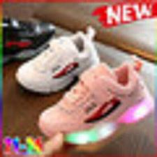 Buy New Kids Led Lights Shoes Children Running Shoes Flash Sports Sneakers Kids Shoe