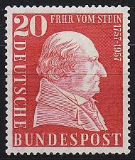 Buy GERMANY BUND [1957] MiNr 0277 ( **/mnh )