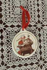 Buy 1996 JC Penney Limited Edition Ceramic Ornament Santa Reading Letters 4 Charity