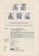 Buy ÖSTERREICH AUSTRIA [1961] MiNr 1103-06 SD ( oG/no gum ) [A15] Schwarzdruck Erlä