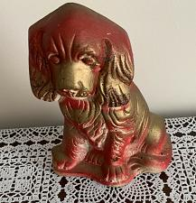 Buy Vintage Carnival Chalkware Dog Cocker Spaniel Plastic Products Marked 1948