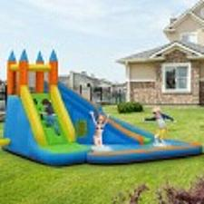 Buy Inflatable Mighty Bounce House Jumper with Water Slide