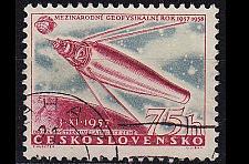Buy CSSR [1957] MiNr 1057 ( O/used ) Weltraum