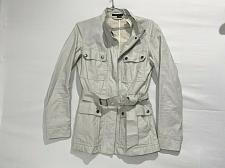 Buy Theory Safari utility raincoat Jacket women's front snap buttons size s