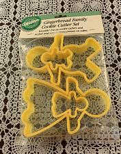 Buy Brand New Gingerbread Family Cookie Cutters 4 Piece Set For Dog Rescue Charity