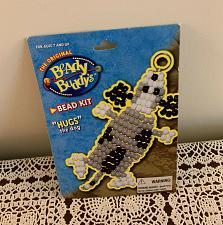 Buy Brand New Vintage 1998 Beady Buddys Pony Bead Craft Kit TF1079 Hugs The Dog