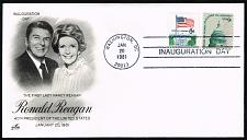 Buy Ronald-Nancy Reagan Artcraft Cachet Inauguration Day Cover |USACVRLOT-31XDP