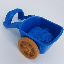 Buy Fisher Price Little People Lil Kingdom Castle Replacement Wagon Cart Blue Farm