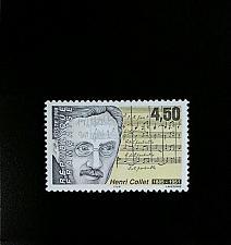 Buy 1998 France Henri Collet, Composer Scott 2661 Mint F/VF NH