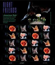Buy 2002 37c American Bats, Sheet of 20 Scott 3661-64 Mint F/VF NH