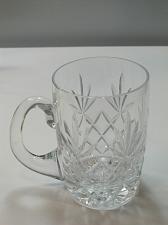 Buy Lenox HAND Cut glass Charleston Crystal fathers day mug Made in USA