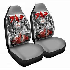 Buy Welcome To Neotokyo Car Seat Covers Nerdy Geeky Pop Culture Set of 2 Front Seat