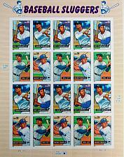 Buy 2006 39c Baseball Sluggers, Sheet of 20 Scott 4080-83 Mint F/VF NH