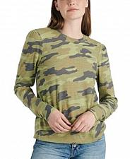 Buy Camo Puff Sleeve Tee Shirt Size XS/ TP Camouflage (tall/petite) Retail: 49.50