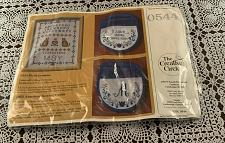 Buy Brand New Embroidery Kit 0544 Creative Circle First Sampler Cats For Charity
