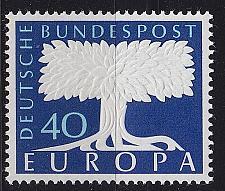 Buy GERMANY BUND [1957] MiNr 0269 ( **/mnh ) CEPT