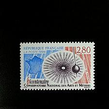 Buy 1994 France National Conservatory of Arts & Crafts Scott 2436 Mint F/VF NH
