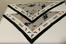 Buy Two Brand New Halloween Trick or Treat Design Dog Bandanas 4 Dog Rescue Charity