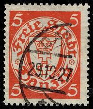 Buy Danzig #170 Coat of Arms; Used (3Stars) |DAN170-02XRS