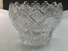 Buy ABP cut glass ice tub Antique crystal Clark Prima Donna