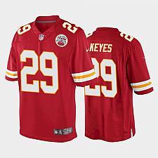 Buy Men's Kansas City Chiefs Thakarius Keyes Game Jersey - Red