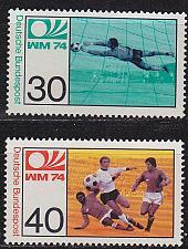 Buy GERMANY BUND [1974] MiNr 0811-12 ( **/mnh ) Fußball