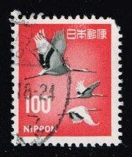 Buy Japan #888A Cranes; Used |JPN0888A-02