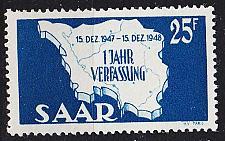 Buy GERMANY Saar [1948] MiNr 0261 I ( **/mnh )